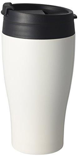 DOSHISHA (ドウシシャ) コンビニマグ ダイレクトタイプ 真空断熱 直接ドリップ 0.36L ホワイト CBCT400WH