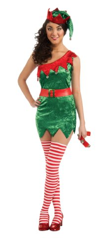 Secret Wishes Christmas Collection Sexy Elf Costume