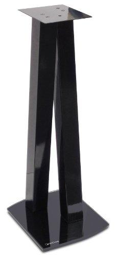 Norstone Walk Stand per Diffusori, 72 cm, Nero