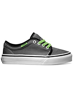Vans Classic 106 Vulcanized Pewter Kids Trainers Size 11 UK