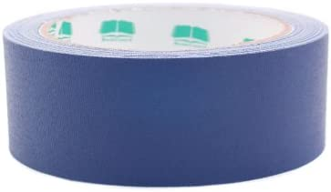 1-12quot Dark Blue Colored Premium-Cloth Book Binding Repair Tape  15 Yard Roll BookGuard Brand