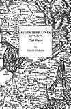 Scots-Irish Links, 1575-1725, Part Three (0806351020) by Dobson, David