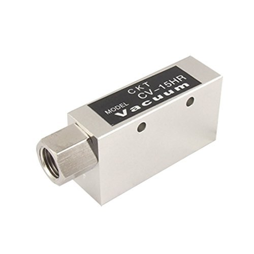 "Water & Wood Cv-15Hr 1/2"" M Thread 3 Ports Vacuum Ejector Generator front-613553"