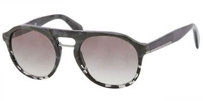 prada Prada Sunglasses SPR 09P Grey QE2-0A7 PR09PS