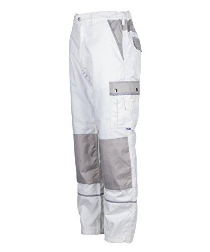 tmgr-pantalon-de-travail-de-peintre-resistant-et-leger-homme-blanc-w30-r-eu46