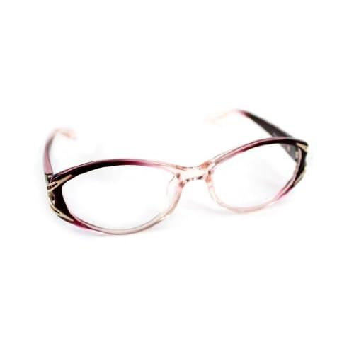 FALCHI NEW YORK(ファルチ ニューヨーク) Falchi NewYork ファルチニューヨーク カラーフレーム ダテメガネ FNF81011-80 サングラス フレーム:パープルグラデーション レンズ:透明(fnf81011-80a)