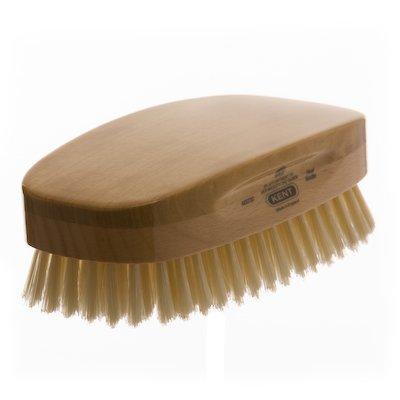 GB Kent Brosse rectangulaire à poils souples blancs