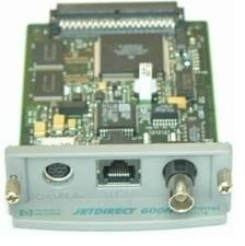 HP JetDirect 600N J3111A Network Card Print Server Local Talk RJ45 BNC J3111A#ABA - HOT ITEM THIS MONTH!!!