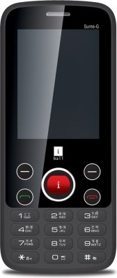 iBall Sumo-G (Black & Gold, 256 KB)