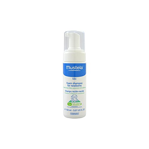 Mustela Foam Shampoo For Newborns - 5.07 Oz.