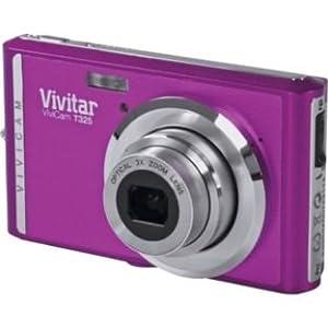 Vivitar T325 12MP Compact Digital Camera - Purple