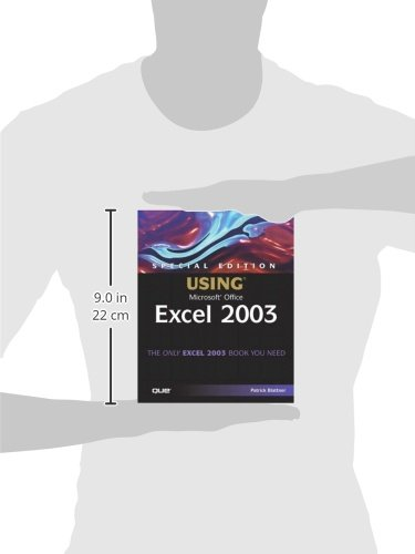 Special Edition Using Microsoft Office Excel 2003