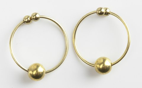 Fetish Fantasy Series Gold Nipple Bull Rings (Package Of 6) j djaga djaga вибромассажер фиолетовый