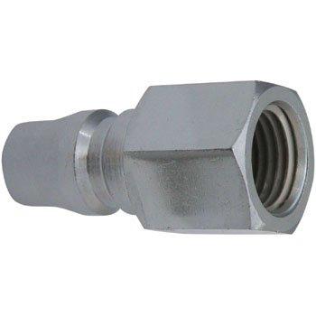 プラグカプラー (オネジ取付用) PF20-Steel