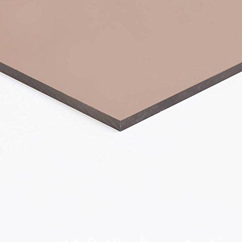 acrylglas get nt braun 5mm rauchglas sichtschutzblende. Black Bedroom Furniture Sets. Home Design Ideas