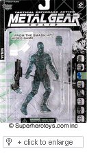 Picture of McFarlane Metal Gear Solid Ninja Optic Camoflauge Action Figure (B0012FW41A) (McFarlane Action Figures)