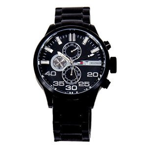 Tommy Hilfiger Black Dial Analogue Watch for Men (TH1791101J)