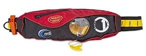 Buy MTI Adventurewear Fluid 2.0 Inflatable Belt Pack PFD Life Jacket by MTI Adventurewear