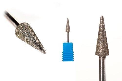 Diamant Fräser Aufsatz 3D Kegel Bit Schleifer (Diamant Fräser Aufsatz 3D Kegel)