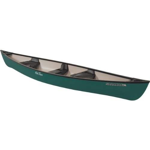 Old Town Saranac 146 Recreational Family Canoe, Green, 14-Feet 6-Inch
