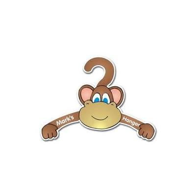 Personalised Childrens Monkey Coat Hanger