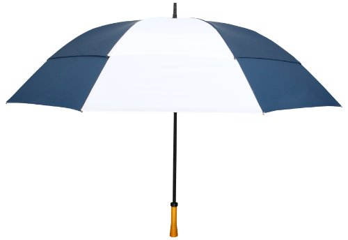 navy-blue-white-windproof-up-to-60-mph-large-golf-umbrella-64-arc-with-warranty
