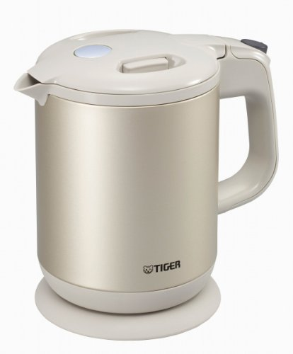 Tiger Child Hopefully Steam-Less Electric Kettle Beige (0.8 L) Pch-A080-C