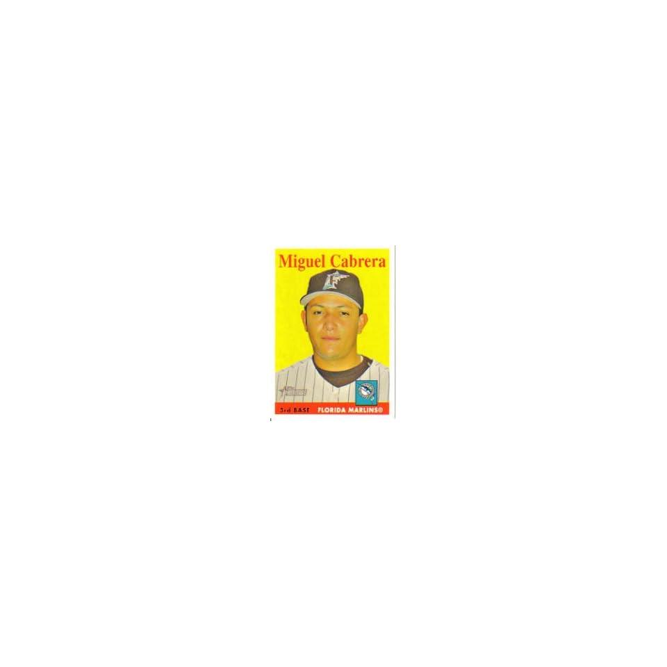 Miguel Cabrera 2007 Topps Heritage Card #144