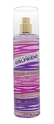 JUSTIN BIEBER Girlfriend Fragrance Mist, 8 Ounce