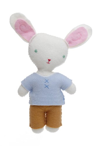 Kata Golda Bunny Boy Stuffed Companion, 12-Inch Tall