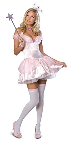 Rubies Womens Wizard Of Oz Glinda The Good Scrt Wishes Sexy Halloween Costume