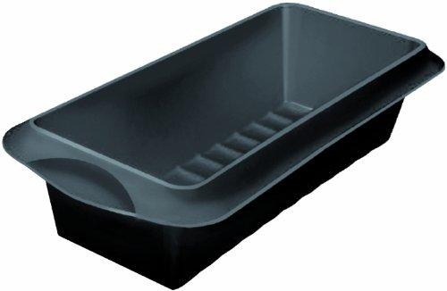 Lekue 9-1/2-Inch Plum Cake Mold, Black