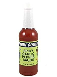 Cajun Power Spicy Garlic All Purpose Sauce by Cajun Power