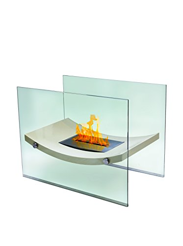 Anywhere Fireplace Broadway Portable Fireplace, Beige