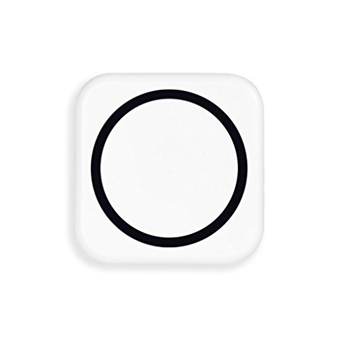 Wireless Charging Pad For Iphone 5 5S,Jokeret Portable Wireless Charger Power Bank With Black Receiver White And Black