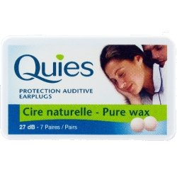 quies BQ wax ear plugs 7pairs