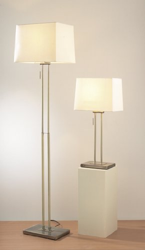 Picasso Twin Pack - Floor Lamp and Matching Table Lamp