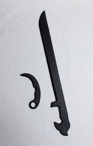 Espada Y Daga Arnis Training Sword & Karambit Knife Martial Arts Trainer *Not For Contact Training*