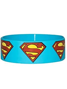 Superman Logo Rubber Wristband