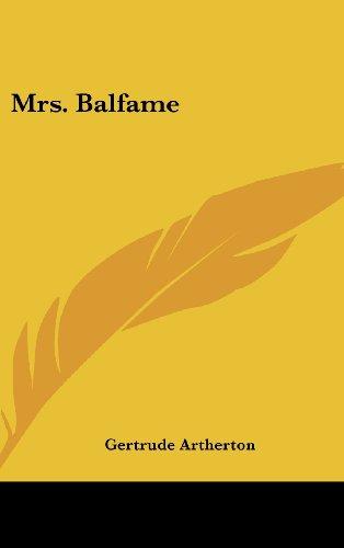 Mrs. Balfame