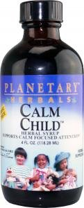 Planetary Herbals Calm Child Herbal Syrup, 4 Fl Oz