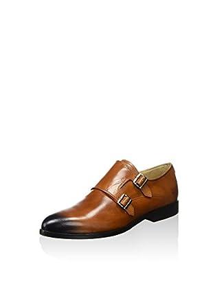 Melvin & Hamilton Zapatos Monkstrap Jessy 7 (Cognac / Azul)