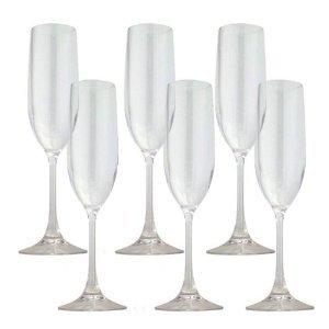 TRITAN シャンパーニュ 合成樹脂グラス6脚セット ガラスじゃないから軽量・割れにくい
