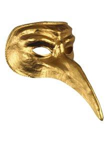 Gold Venetian Halloween Mask