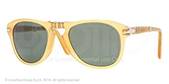 Persol PO0714 Sunglasses-204/31 Transparent Yellow (Crystal Green)-52mm
