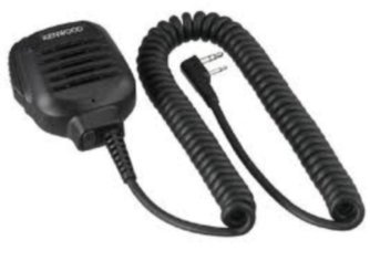 Kenwood Kmc-45 Military Spec Speaker Microphone With Earpiece Jack
