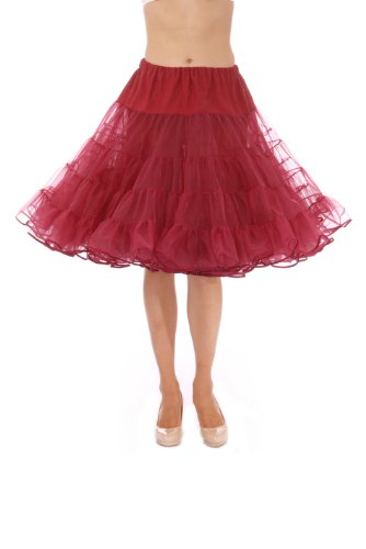 Malco Modes Knee-Length Organza Petticoat Underskirt, for 50's Crinoline dress (Flirt Wi compare prices)