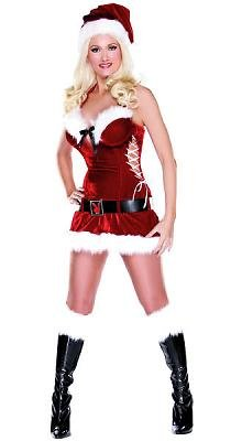 Hef's Holiday Honey Sexy Costume