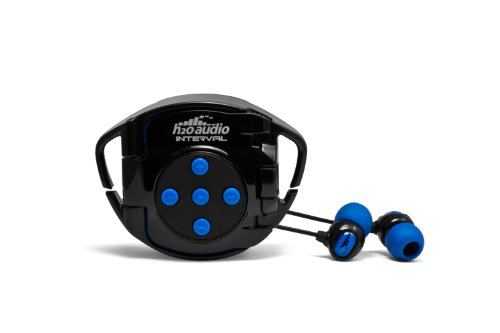 H2O Audio INT4-BK Interval Waterproof Headphone System for iPod Shuffle 4G