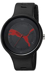 Puma Slick Big Cat Black Dial Men's watch #PU910871001